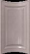 фасад дуговой обратный глухой