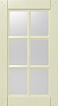 фасад с переплетом